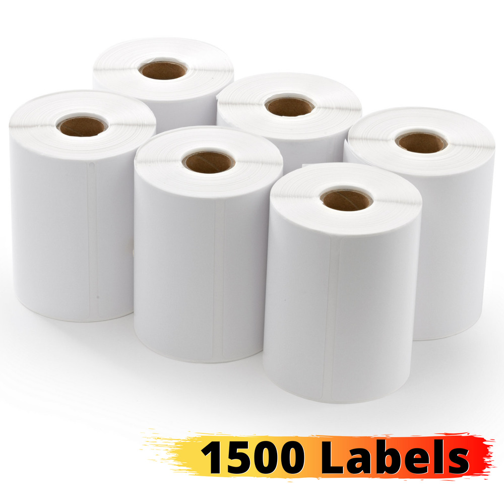 Direct Thermal Paper 4x6in Labels Printer Zebra Eltron