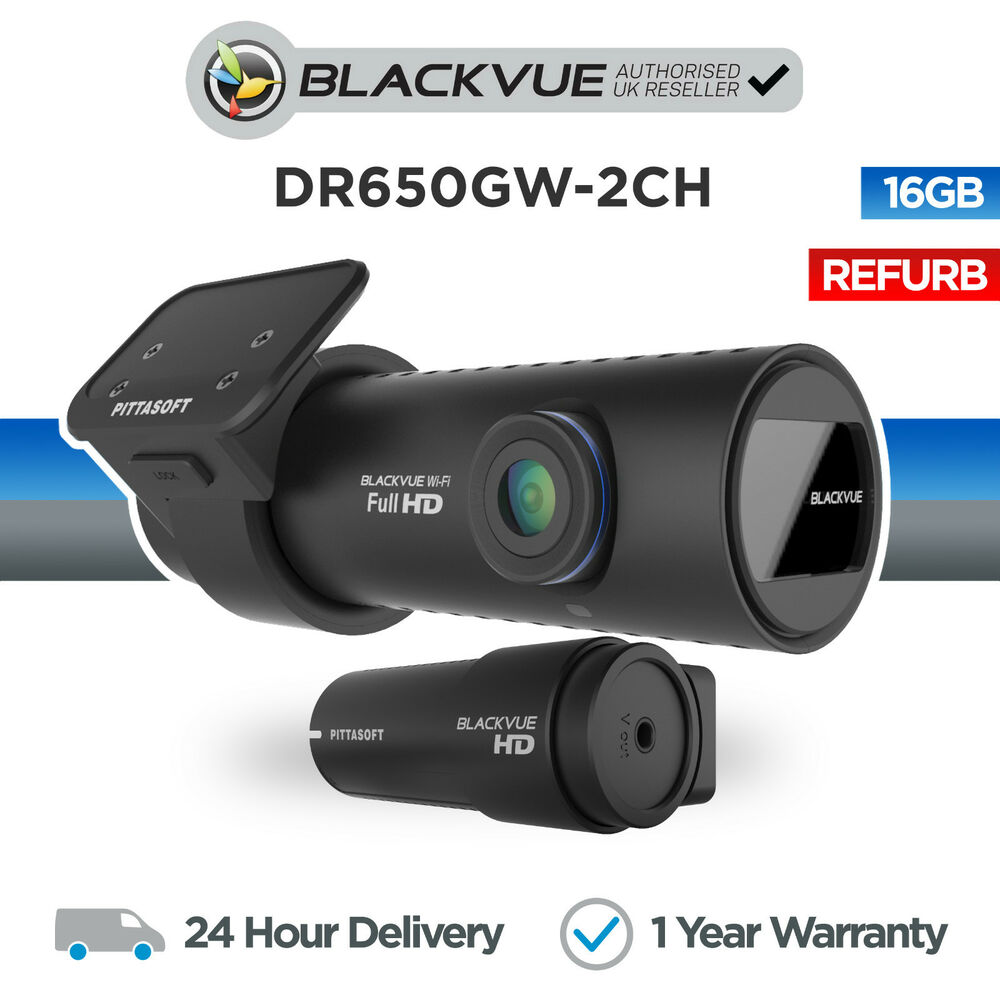 blackvue dr650gw 16gb dvr front rear car dash camera. Black Bedroom Furniture Sets. Home Design Ideas