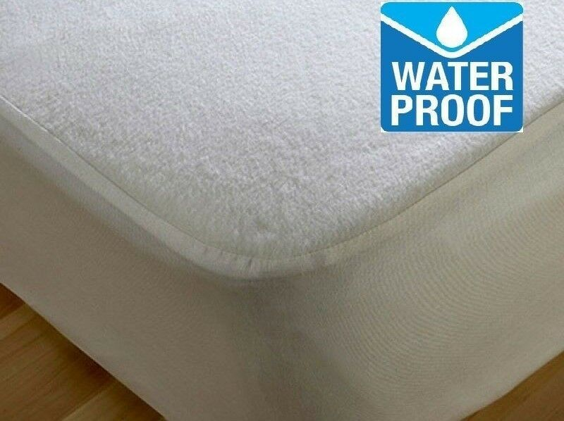 Terry Towel Waterproof Mattress Protector Sizes Single