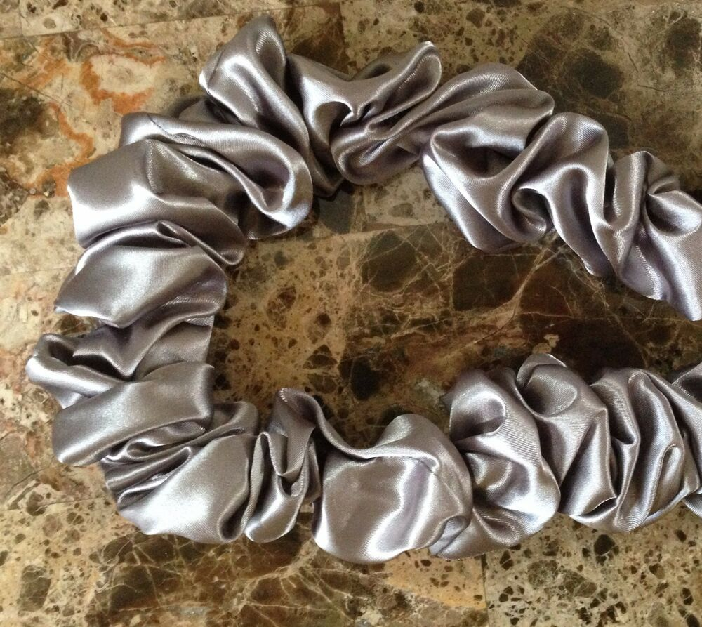 decorative fabric lamp cord cover hand made new silver gray 9 feet long ebay. Black Bedroom Furniture Sets. Home Design Ideas
