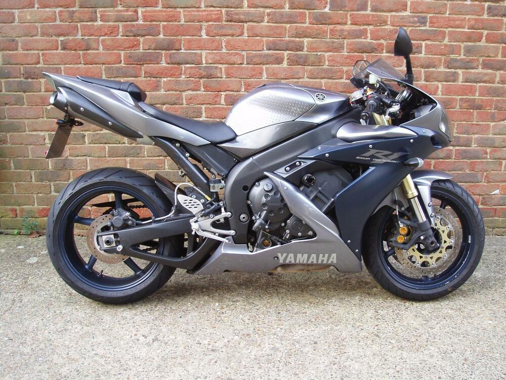 2005 55 yamaha yzf r1 1000cc supersport silver ebay for Yamaha r1 deals