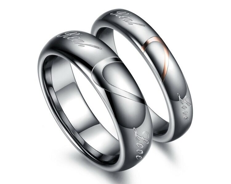 tungsten carbide shaped real rings