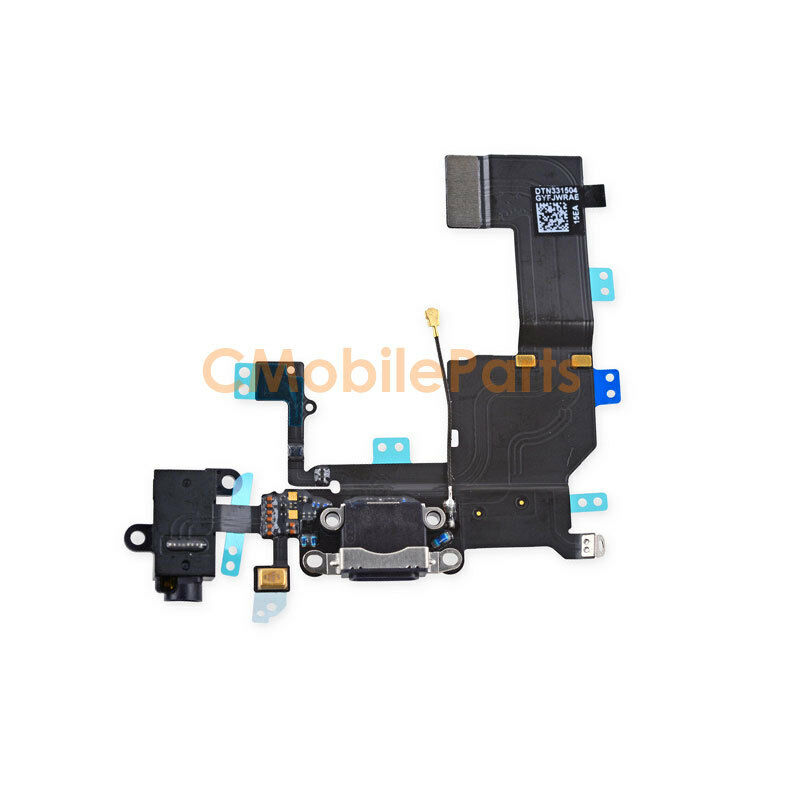 replace charging port iphone 5 black usb dock mic charging port flex cable replacement 8936
