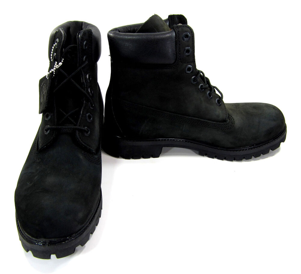timberland shoes 6 inch premium black boots size 8 eur 41
