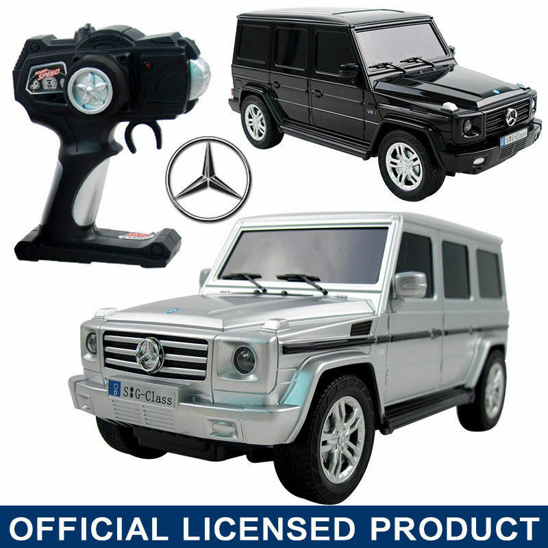 Licensed 1 18 mercedes benz g g500 electric rc radio for Remote control mercedes benz