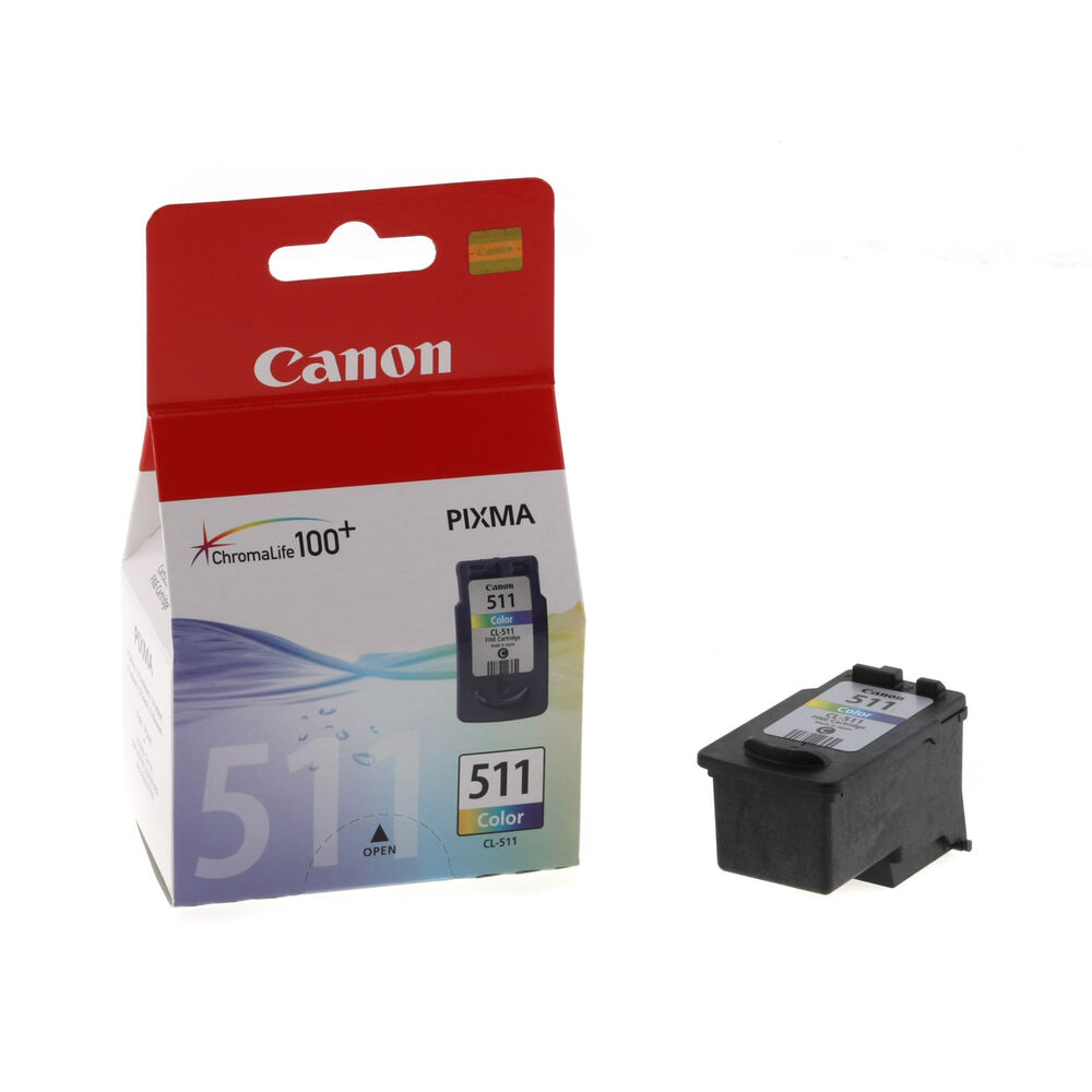 new original canon cl 511 tricolor ink cartridge for canon pixma mp240 mx320 ebay. Black Bedroom Furniture Sets. Home Design Ideas