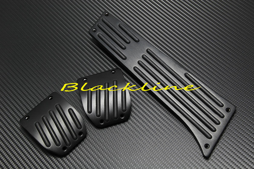 For Bmw Blk Manual Aluminum Pedal Set E36 M3 E38 E46 E90