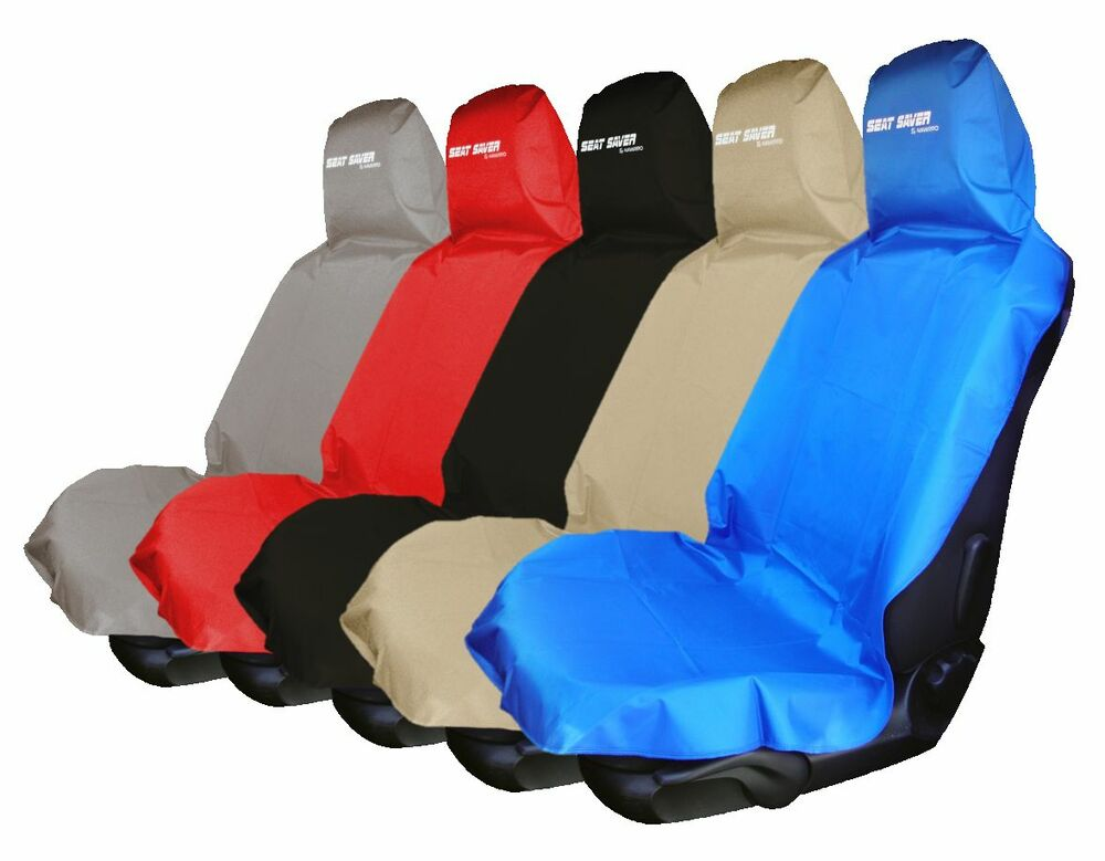 waterproof removable car front back seat cover sweat sport carseat protect clean ebay. Black Bedroom Furniture Sets. Home Design Ideas