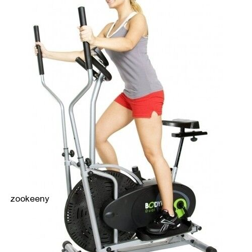 INDOOR ELLIPTICAL TRAINER EXERCISE MACHINE Cardio Cycle
