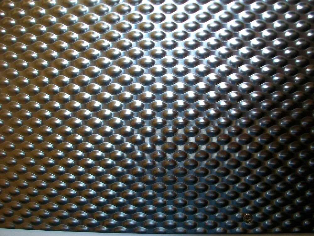 6wl Pattern Embossed Stainless Steel Sample Size 100mm X