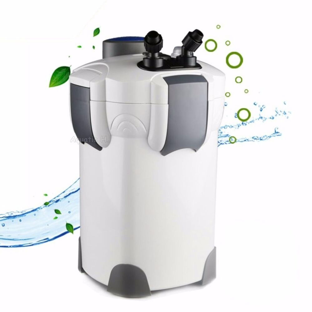 200 gallon aquarium canister filter uv 9w uv sterilizer for Uv filter for fish tank