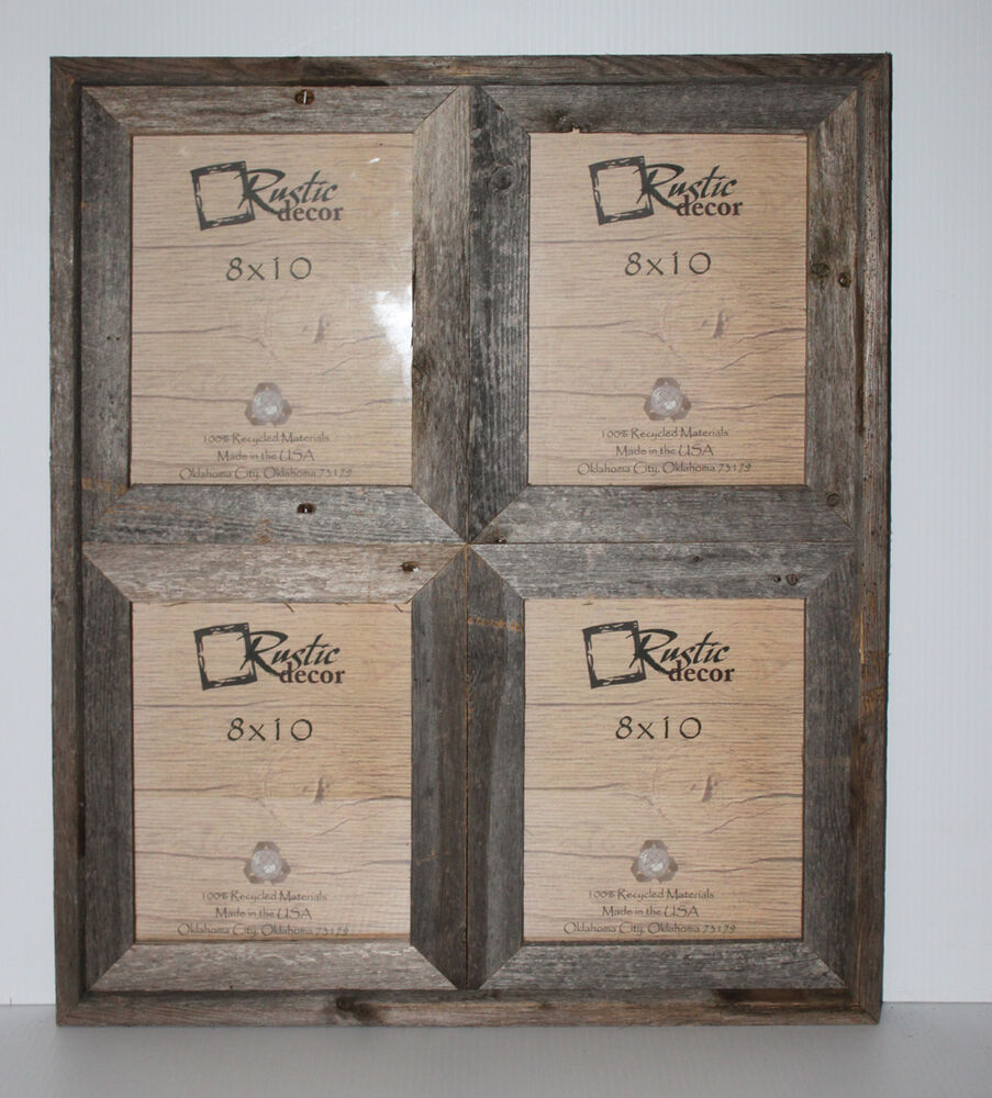 8x10 2 5 Quot Wide Reclaimed Rustic Barn Wood Collage Photo