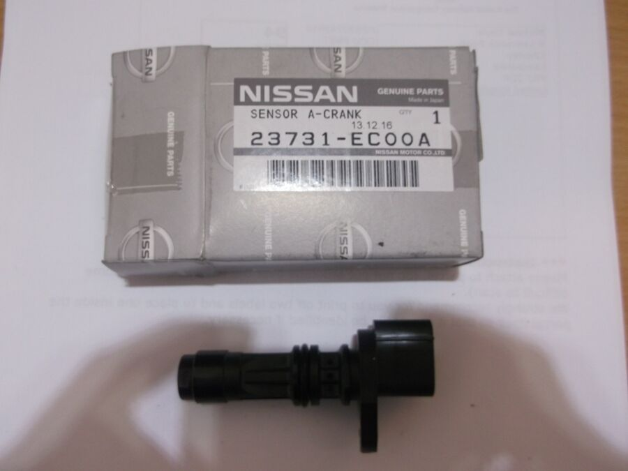 Genuine Nissan Navara D40 Crankshaft Cam Camshaft Position