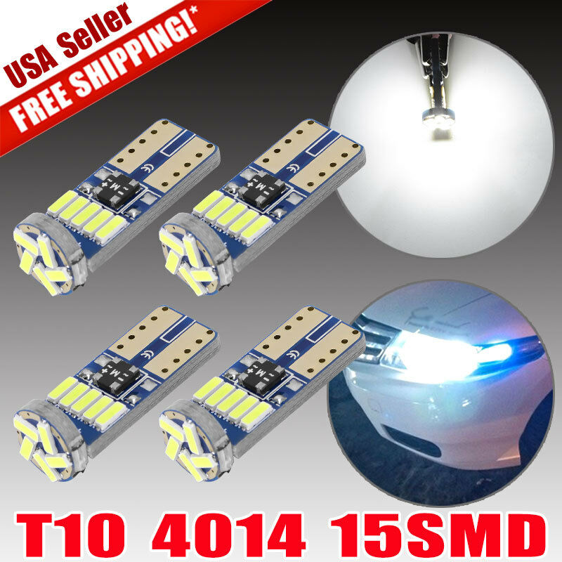 Bmw X6 Red Interior: 18X Pure White Error Free LED Interior SMD Package Kit For