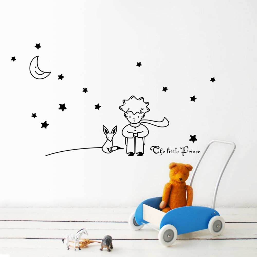 Removable The Little Prince Fox Vinyl Wall Sticker Kids