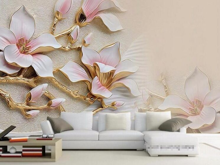 3d wallpaper living room mural roll modern background