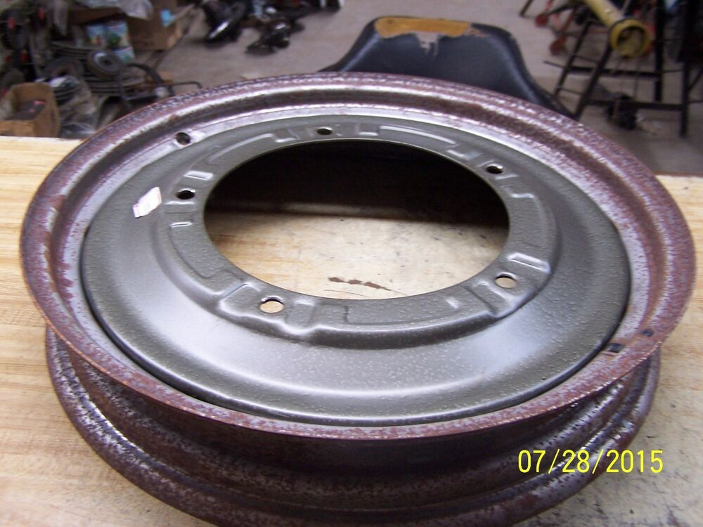 Ford Tractor Front Wheel : N ford tractor quot front wheel ebay