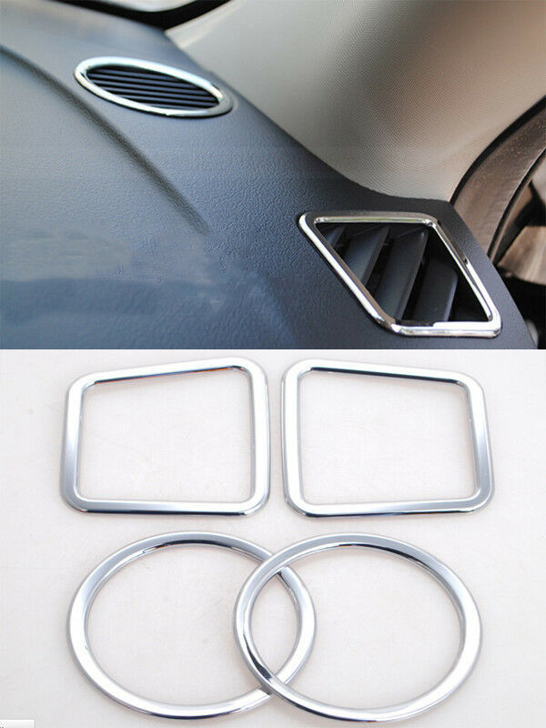 2011 2015 For Jeep Patriot Interior Accessories Trim Dashboard Air Outlet Covers Ebay
