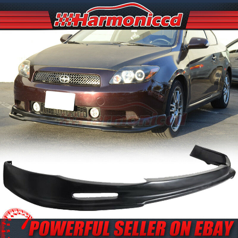 fit for 05 10 scion tc front bumper lip spoiler pu poly. Black Bedroom Furniture Sets. Home Design Ideas