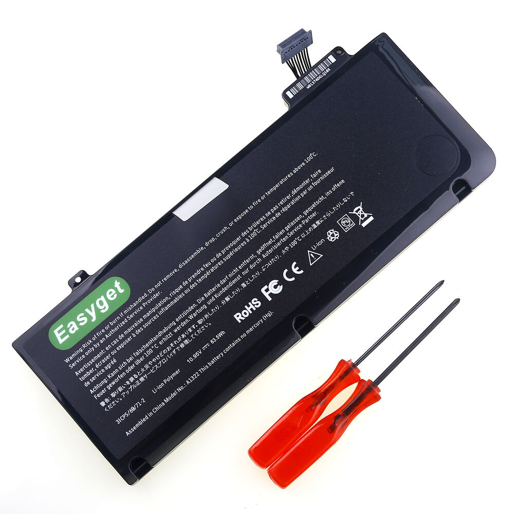 new a1322 battery for apple macbook pro 13 a1278 early. Black Bedroom Furniture Sets. Home Design Ideas