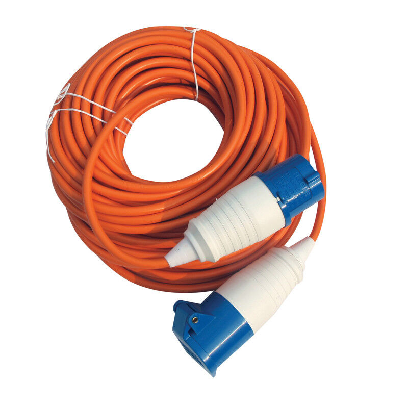 Kampa 10m 240V Electric Hook-Up UK Mains Lead for Camping ...