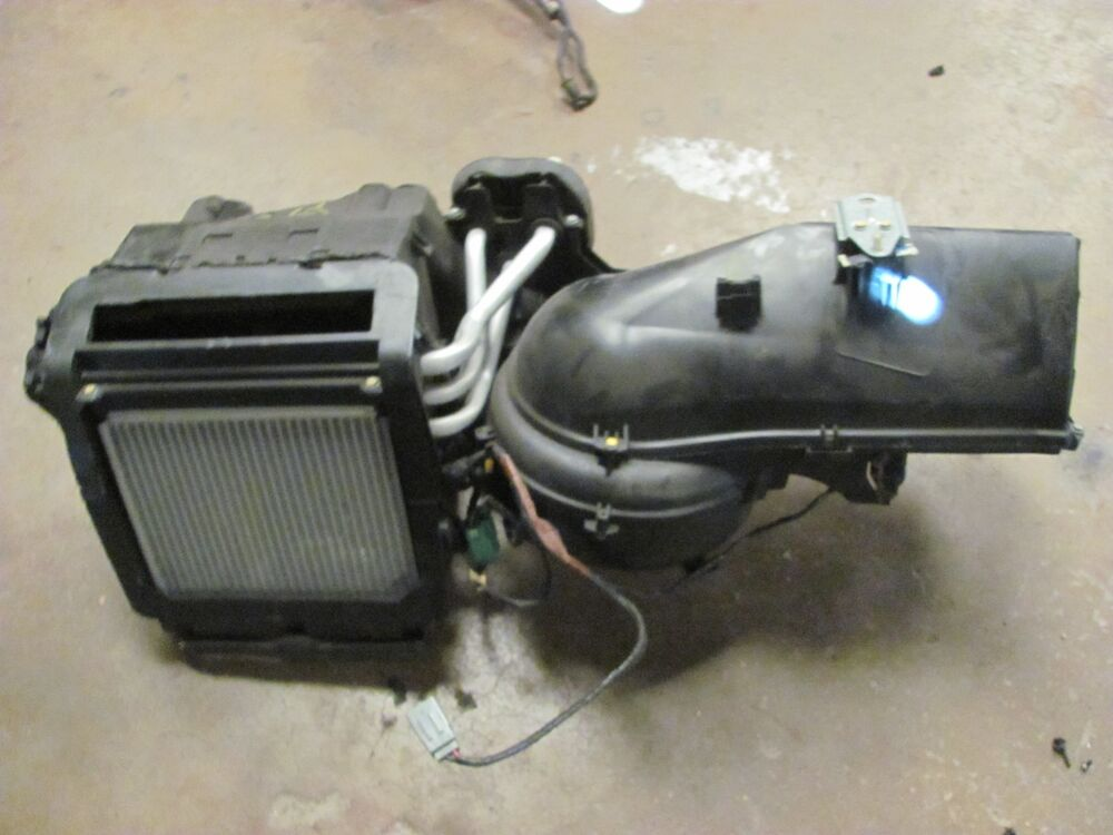 2003 2004 2005 2006 lincoln ls a c heater core with blower. Black Bedroom Furniture Sets. Home Design Ideas