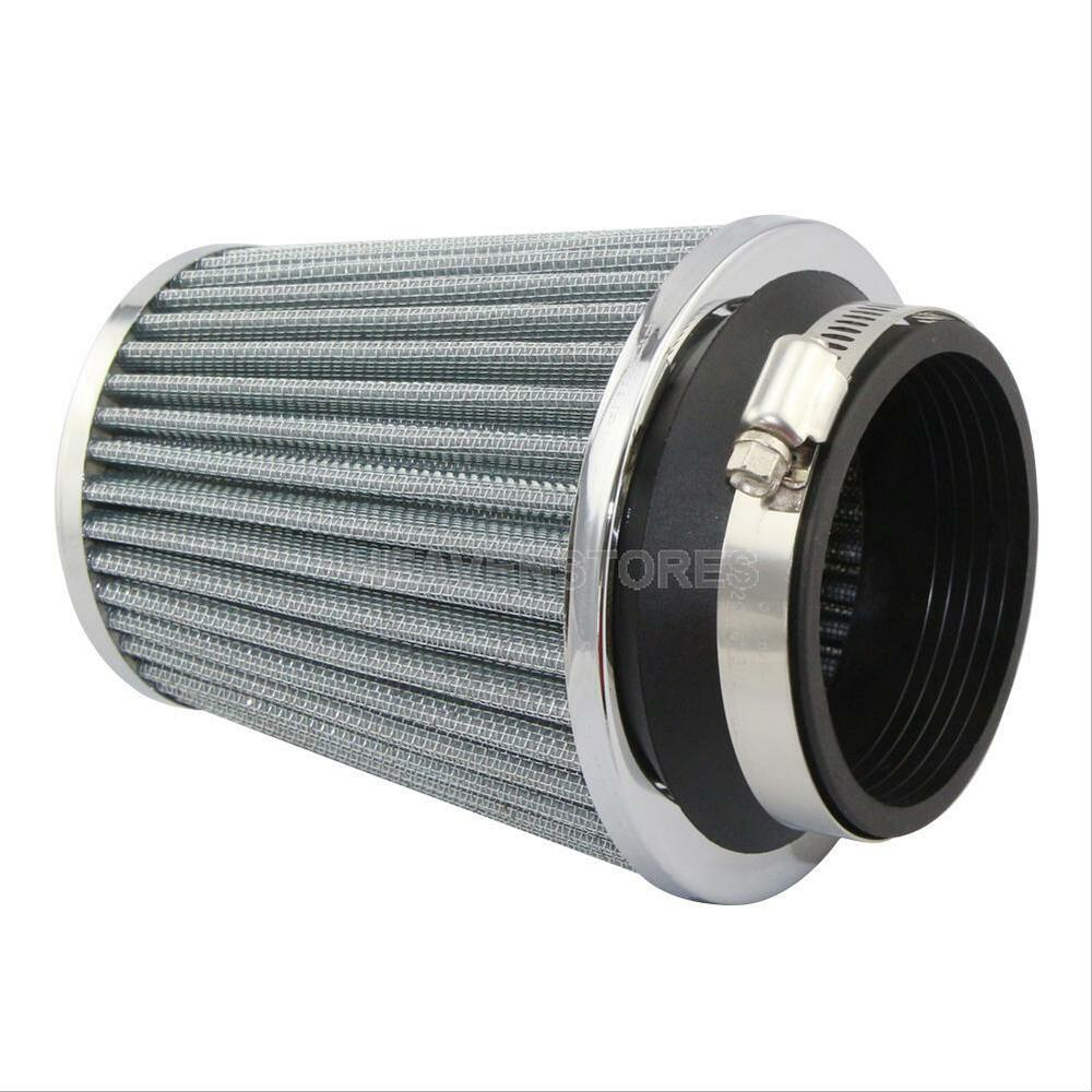 Cold Air Air Cleaner : Inch mm car air filter clean intake high flow short ram