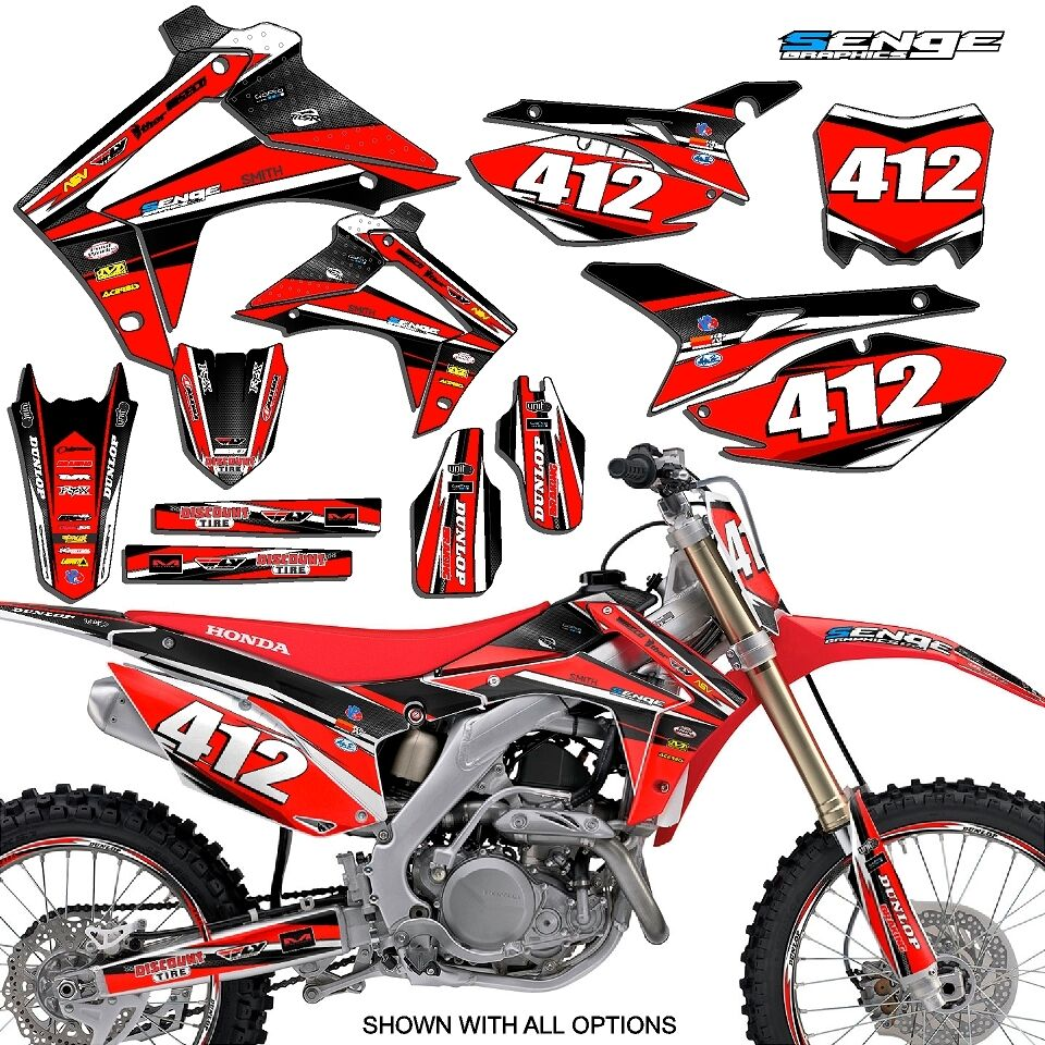 2001 2003 honda xr 70 graphics kit decals stickers deco mx for Stickers deco