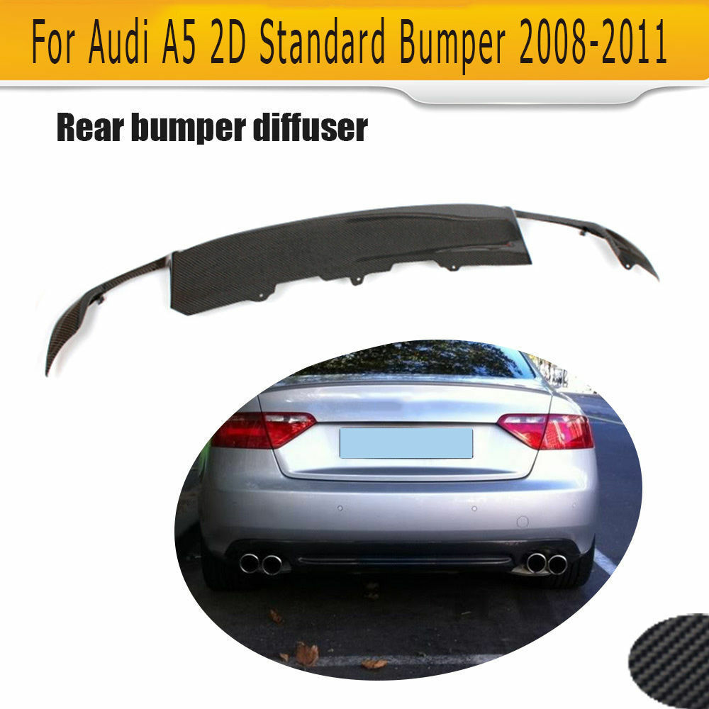 rear diffuser bumper s style spoiler protector fit for. Black Bedroom Furniture Sets. Home Design Ideas