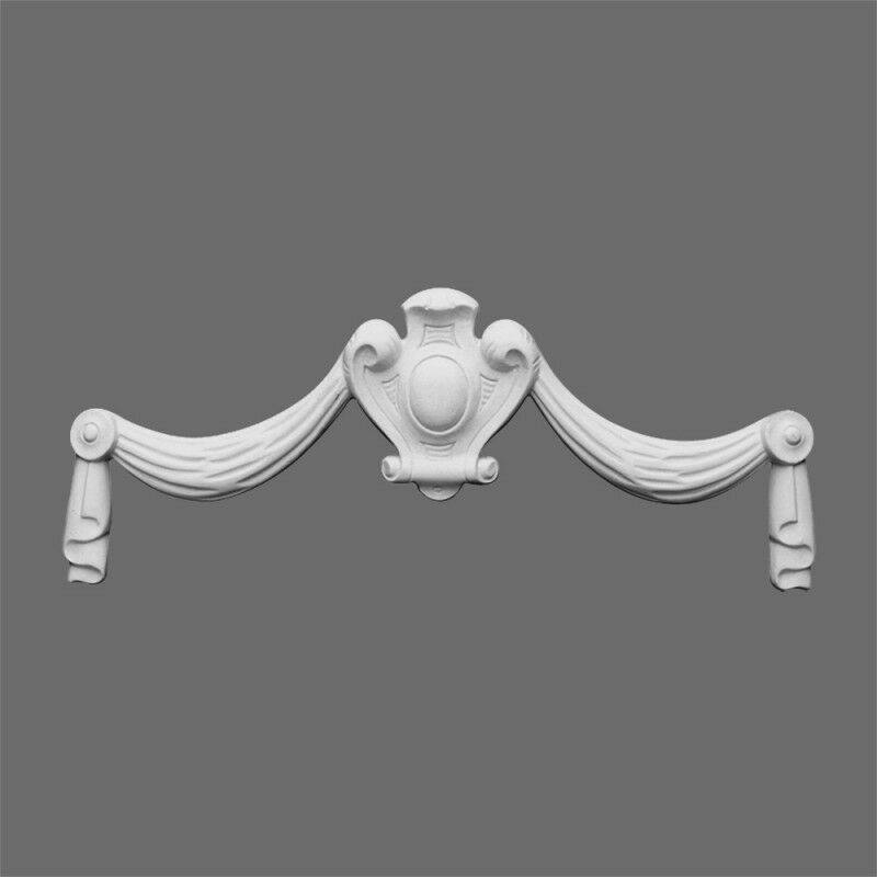 Swag medallion molding accessory d585 gaudi decor for for Advanced molding and decoration s a de c v