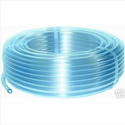 4mm id clear plastic pvc hose pipe air water windscreen washer tube pond 3mtrs ebay. Black Bedroom Furniture Sets. Home Design Ideas