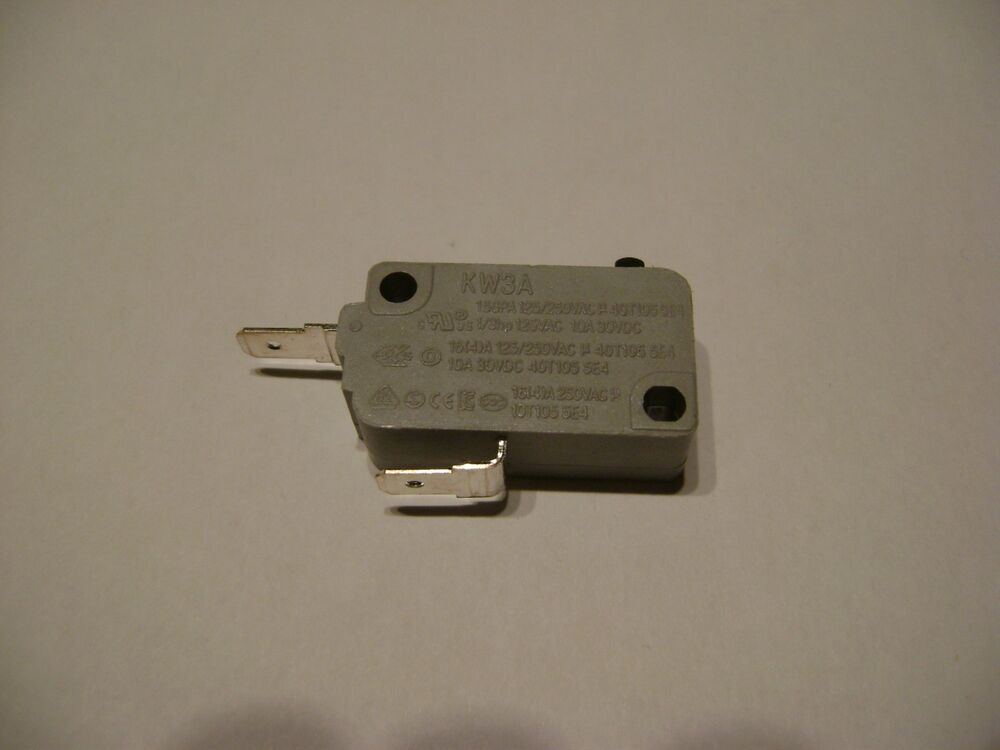New Microwave Oven Kw3a Door Micro Switch Normally Close