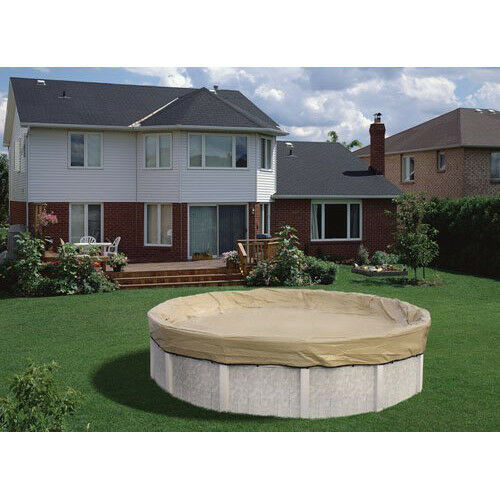18ft Round Armorkote 20yr Solid Above Ground Winter Pool Cover Ebay