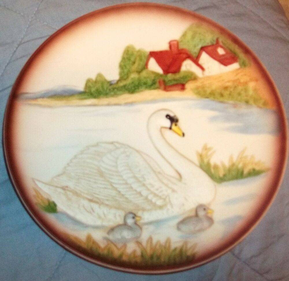 Vintage Homco Home Interior Porcelain Collectible Plate