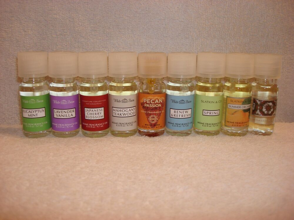 Bath body works home fragrance oils your choice of oil for Best scented oils for home