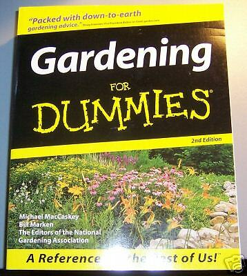 Gardening for dummies book flowers grow vegetables for Landscaping for dummies