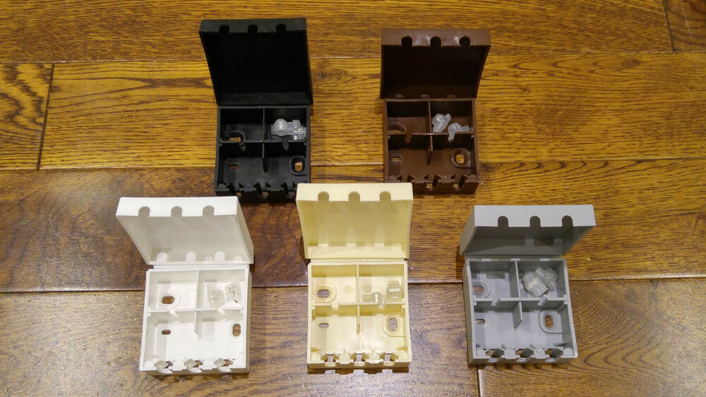 Bt16a External Cable Junction Connection Box   4 Wire Jelly Crimps Telephone Kit