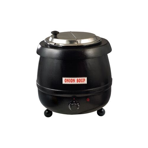 Electric Soup Warmer ~ Qt electric adjustable heat soup kettle warmer ebay
