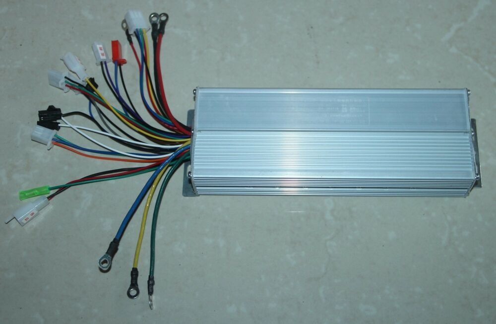 60v 1500w electric scooter brushless controller 3 phase DC Motor Wiring