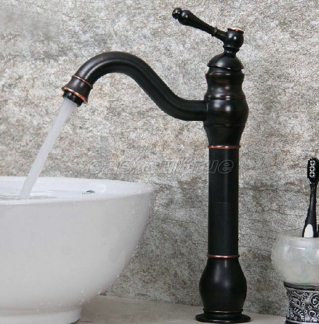 Kitchen Wet Bar Bathroom Vessel Sink Faucet Oil Rubbed Bronze Single Hole Enf300 Ebay
