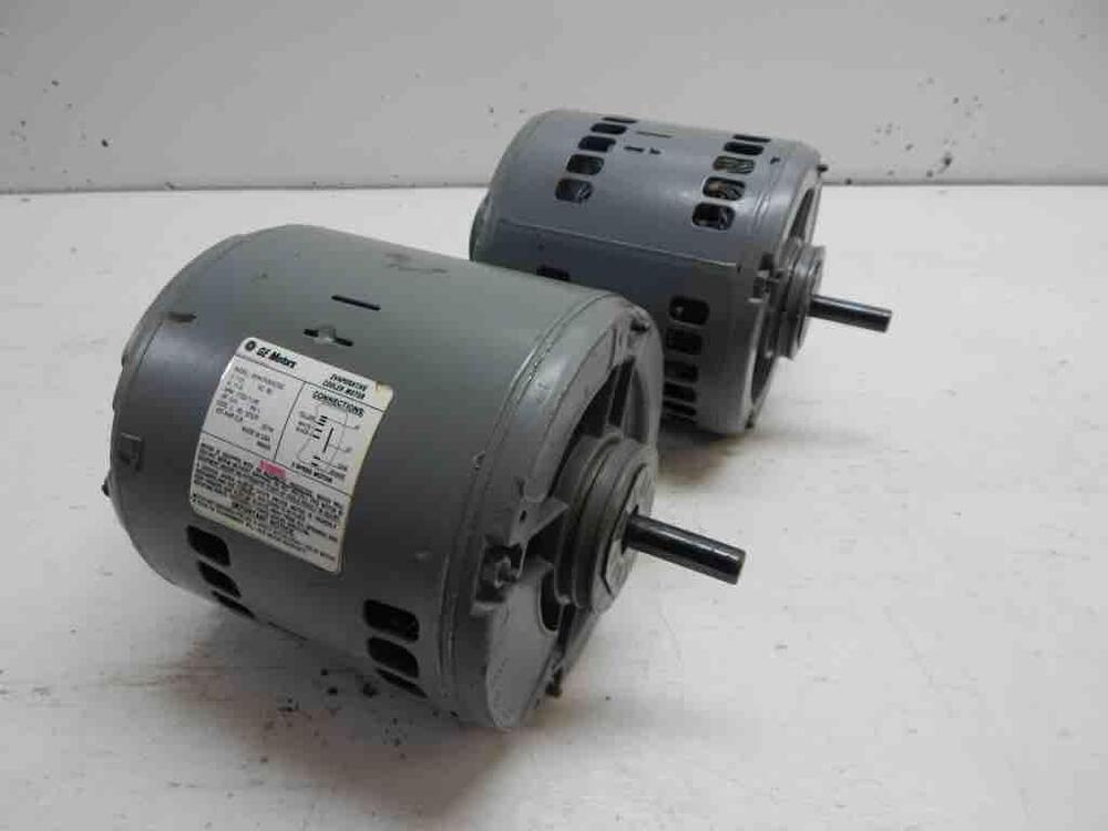 General electric ge 2 speed ac motor 3 4 hp model for Ac and dc motor