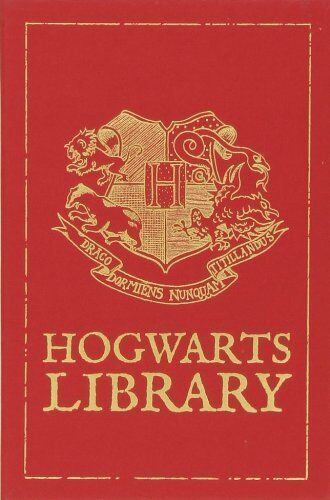 Harry Potter Hogwarts Book Cover : Hogwarts library harry potter hardcover no box
