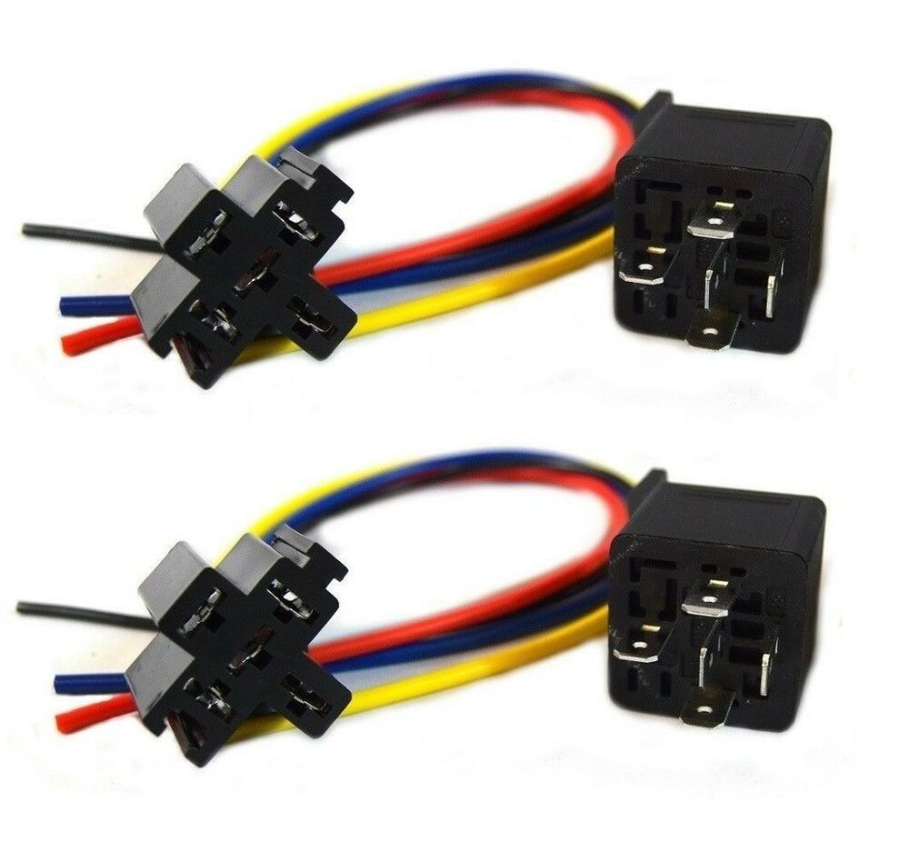 2 40 amp relay audiopipe car audio 2 5 wire relay. Black Bedroom Furniture Sets. Home Design Ideas