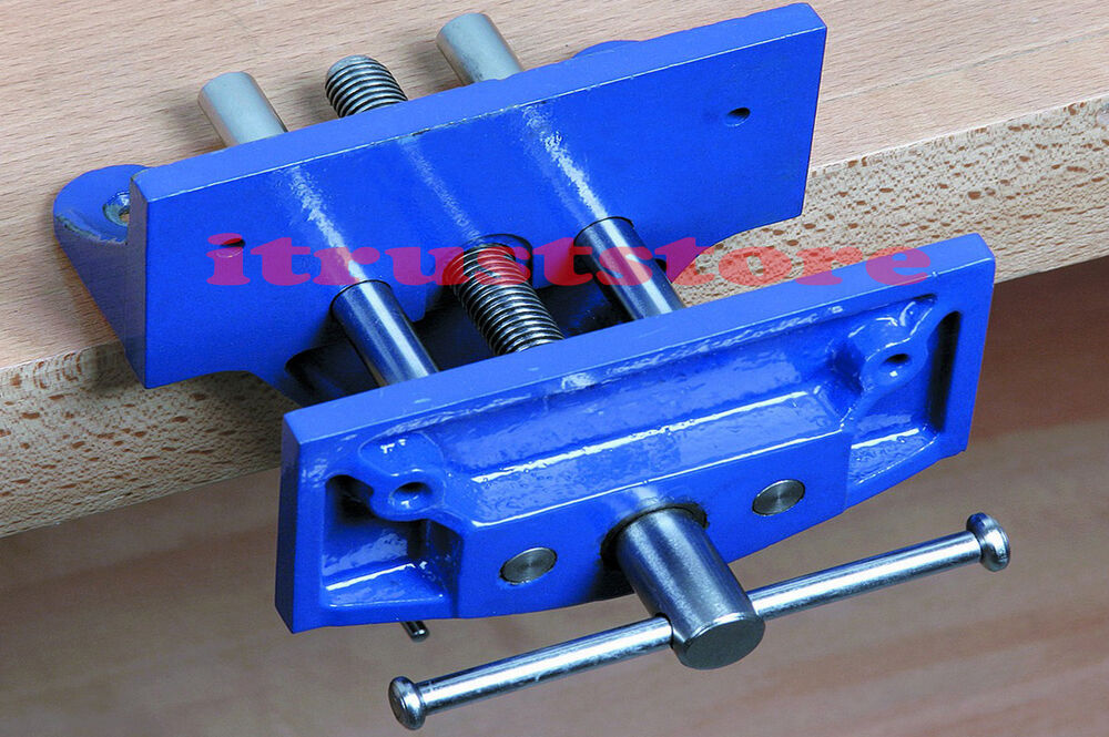 ... CLAMPING BENCH CLAMP VISE WORKBENCH WOODWORKER WOODWORKING VICE | eBay