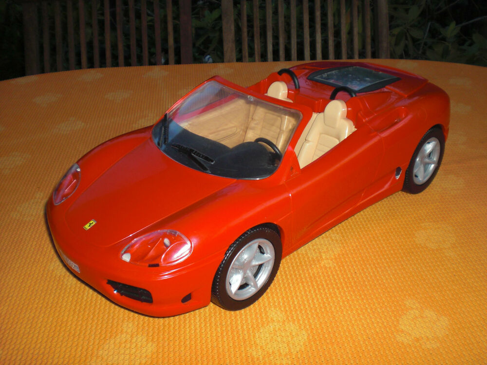 bratz ferrari 360 spider rot cabrio barbieauto barbie. Black Bedroom Furniture Sets. Home Design Ideas
