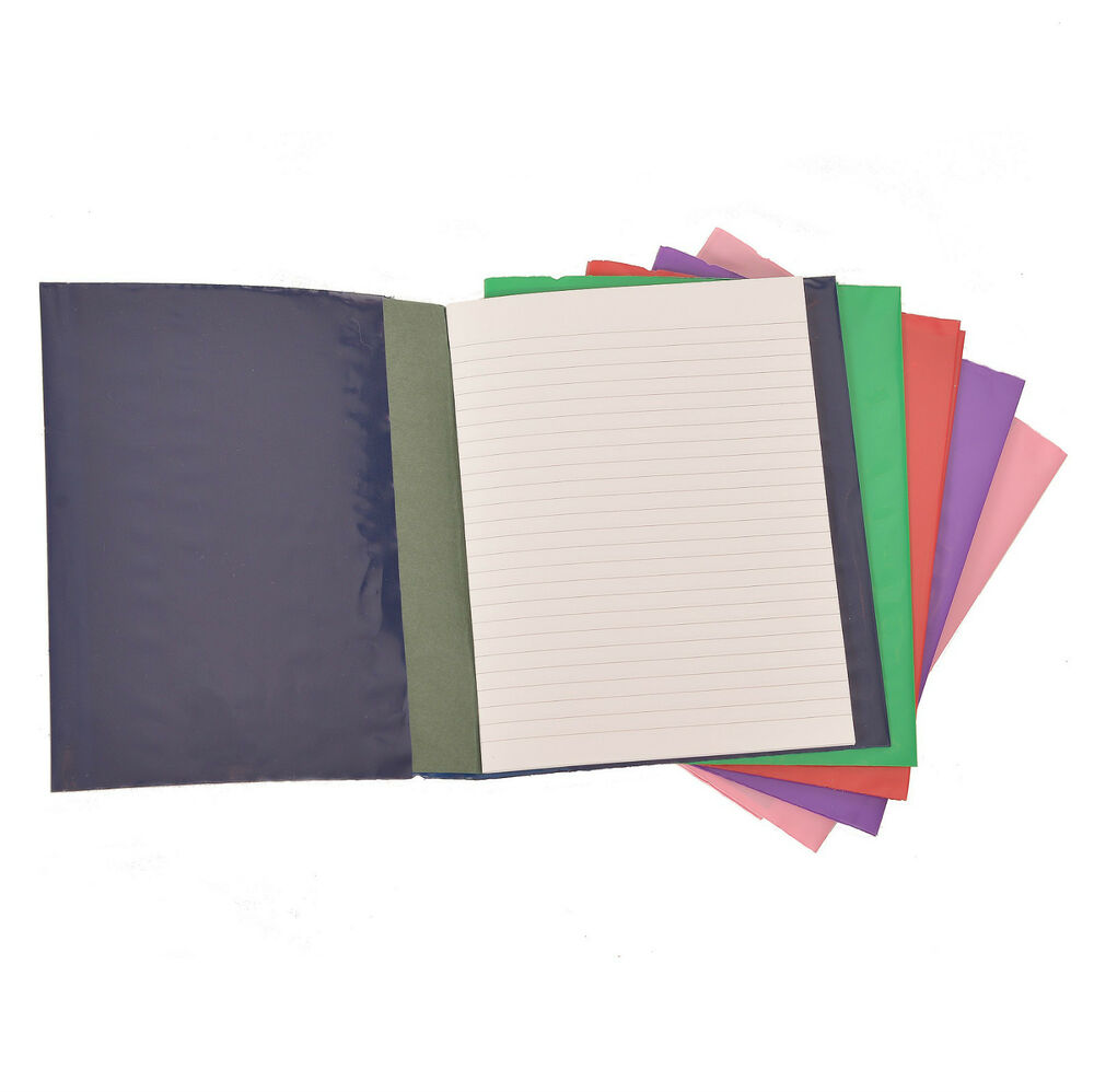 School Book Cover Slips : Protective school exercise book covers slip on a