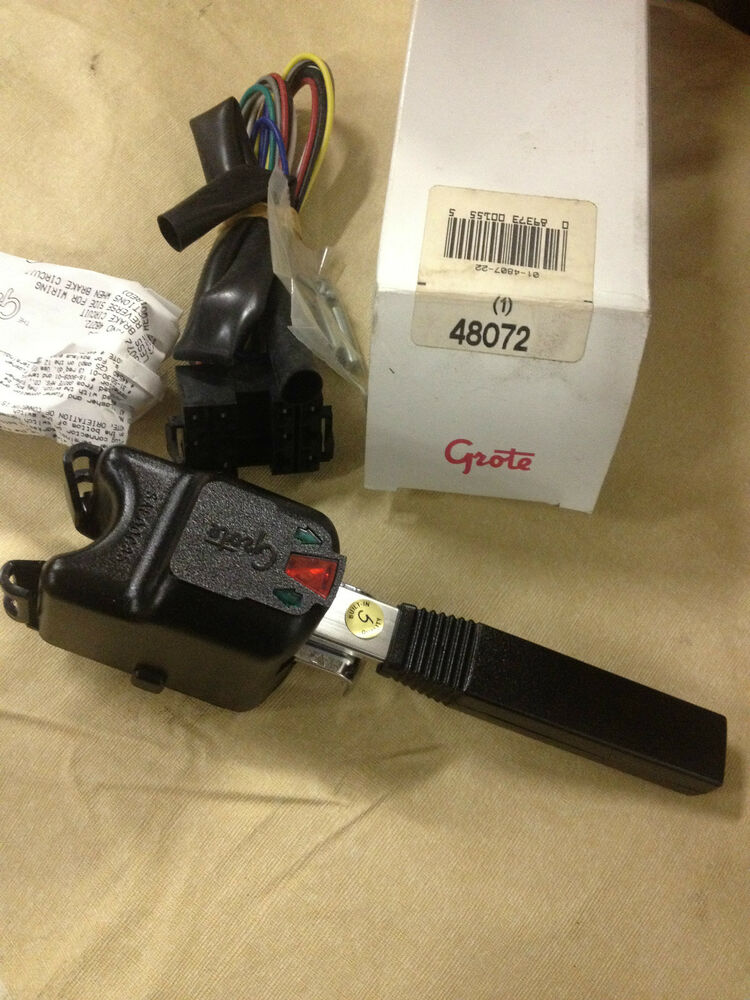 turn signal switch grote 48072 can use 7or 4 wire ebay