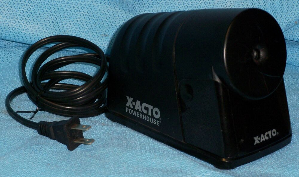 X-Acto Powerhouse Electric Pencil Sharpener - Model 179X ... X Acto Electric Pencil Sharpener