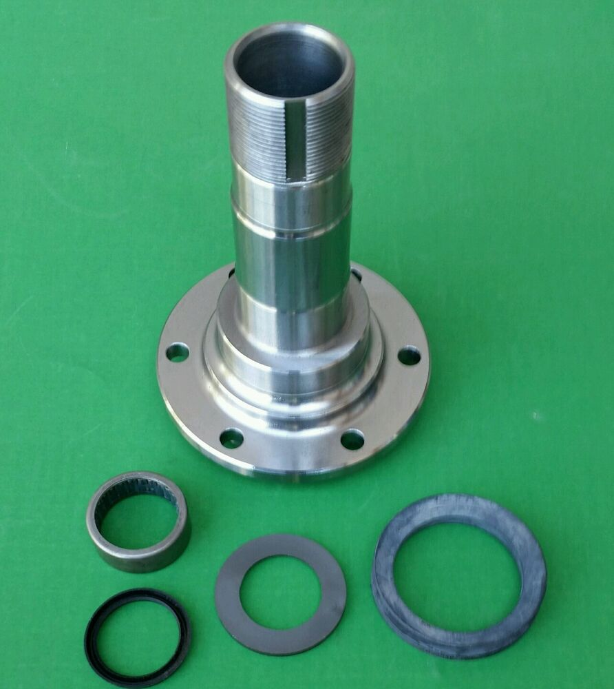 Chevy Dana 44 Spindle : Chevy gm jeep dana small bearing spindle for disc brake