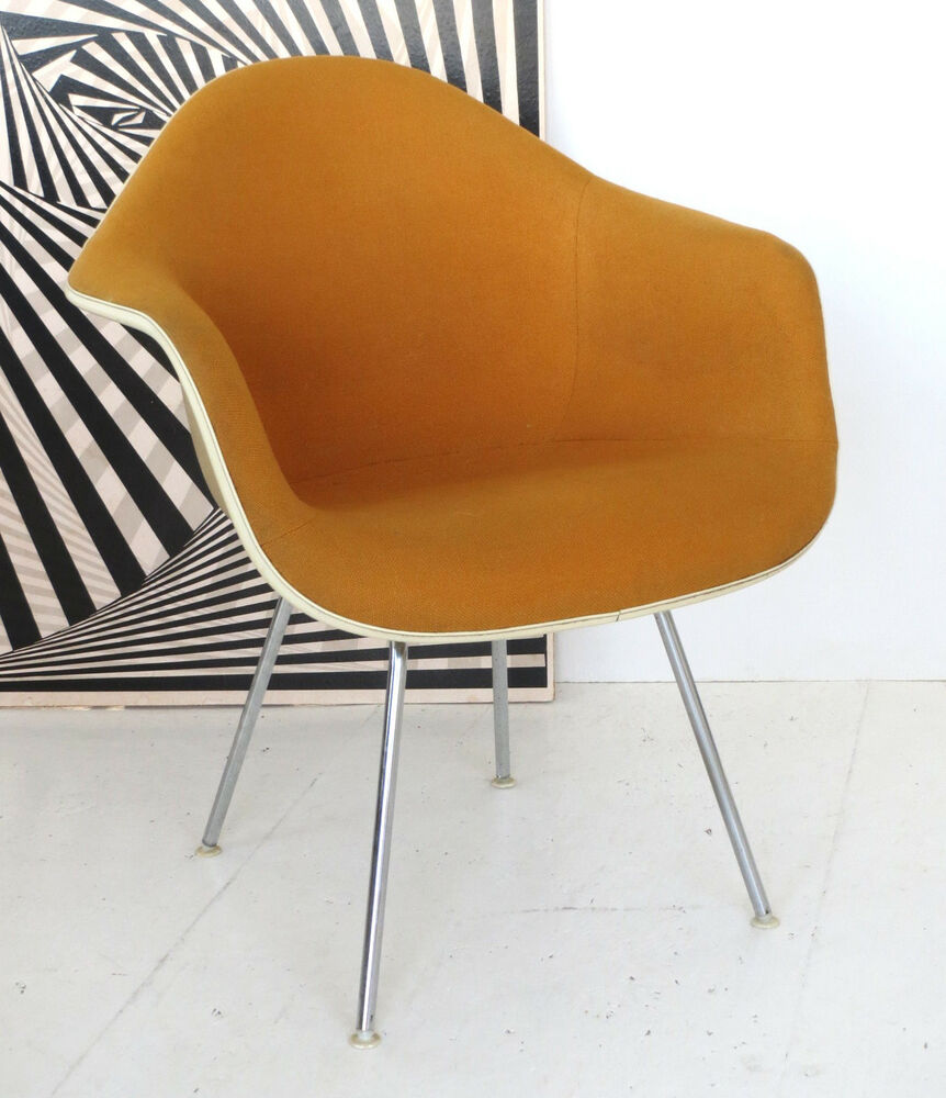 eames dax arm easy chair stuhl chaise fehlbaum for herman miller vitra 70 39 s ebay. Black Bedroom Furniture Sets. Home Design Ideas